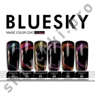 Топ BLUESKY SHELLAC Magic coat 10 мл #6