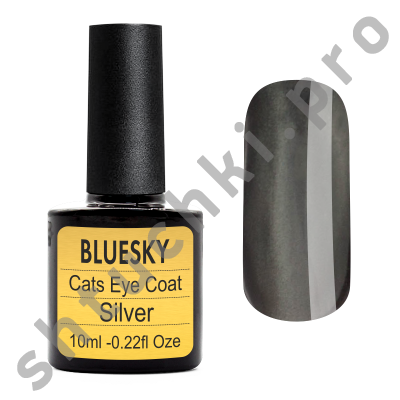 Топ BLUESKY SHELLAC Сat eye (Silver) 10 мл